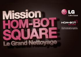 LG HOMBOT Beaubourg