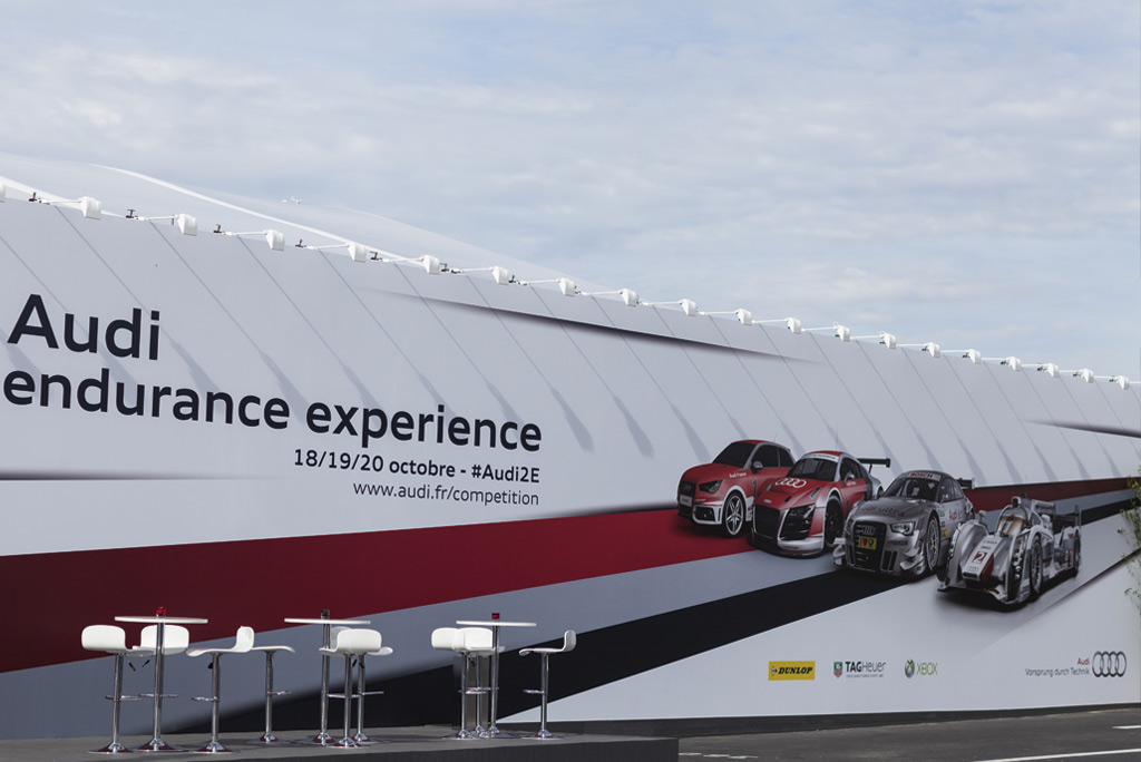 Audi endurance expérience